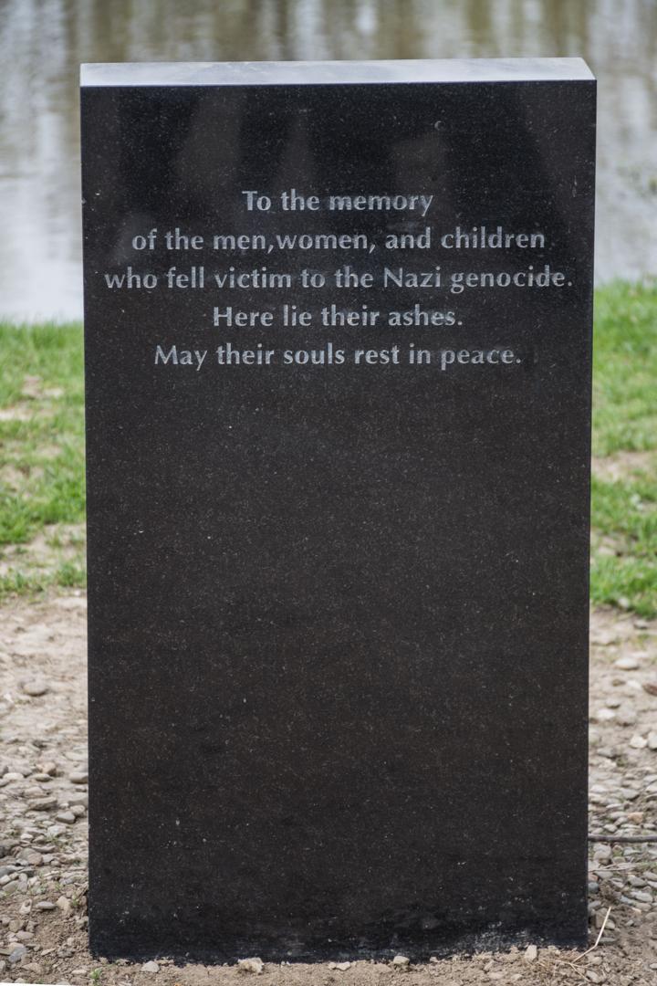 Memorial das víctimas en Birkenau