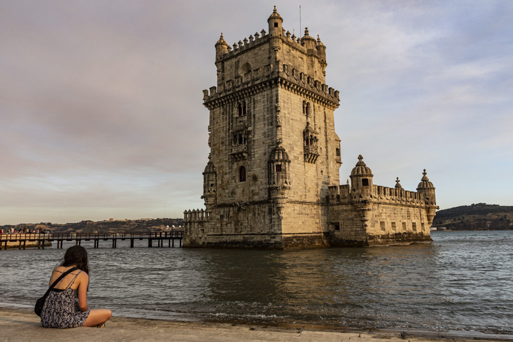 A torre de Belèm, un dos lugares máis fotoxénicos