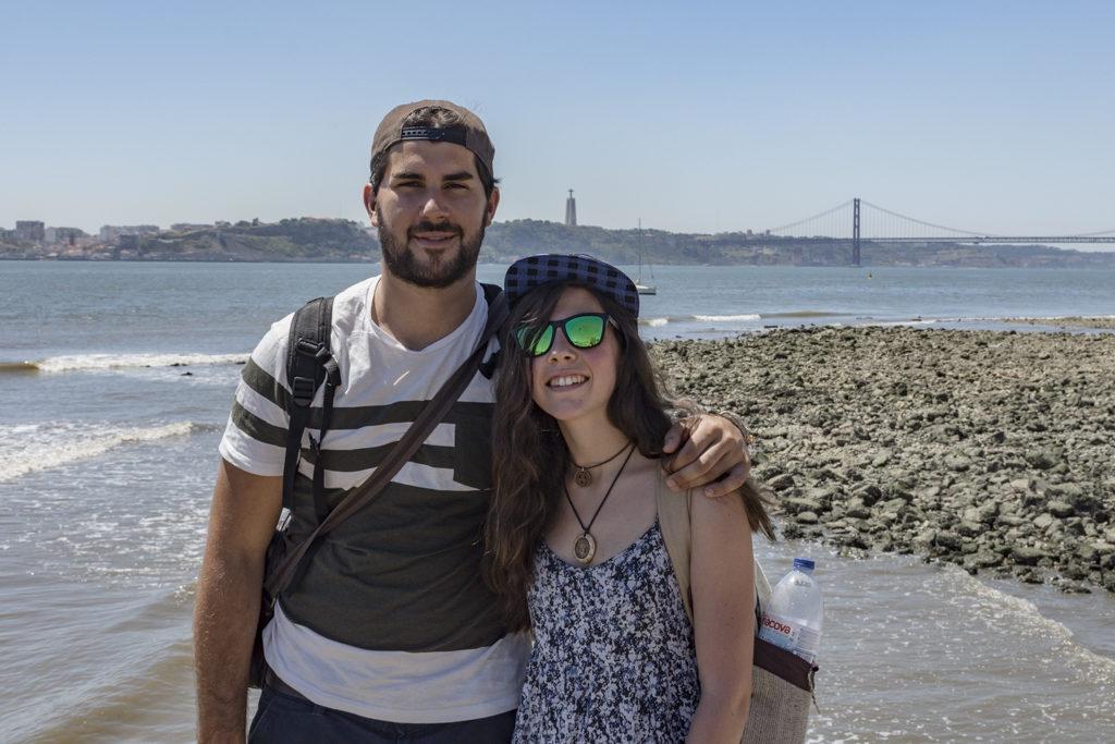 O Texo desde o Terreiro do Paço (Lisboa)