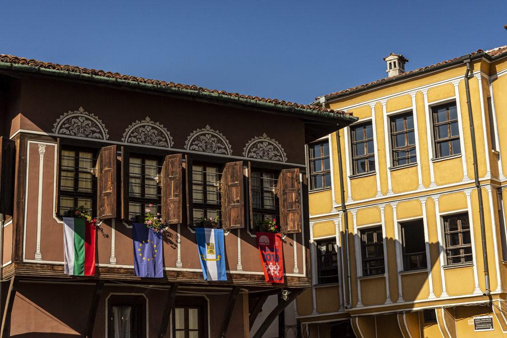 Cidade vella de Plovdiv