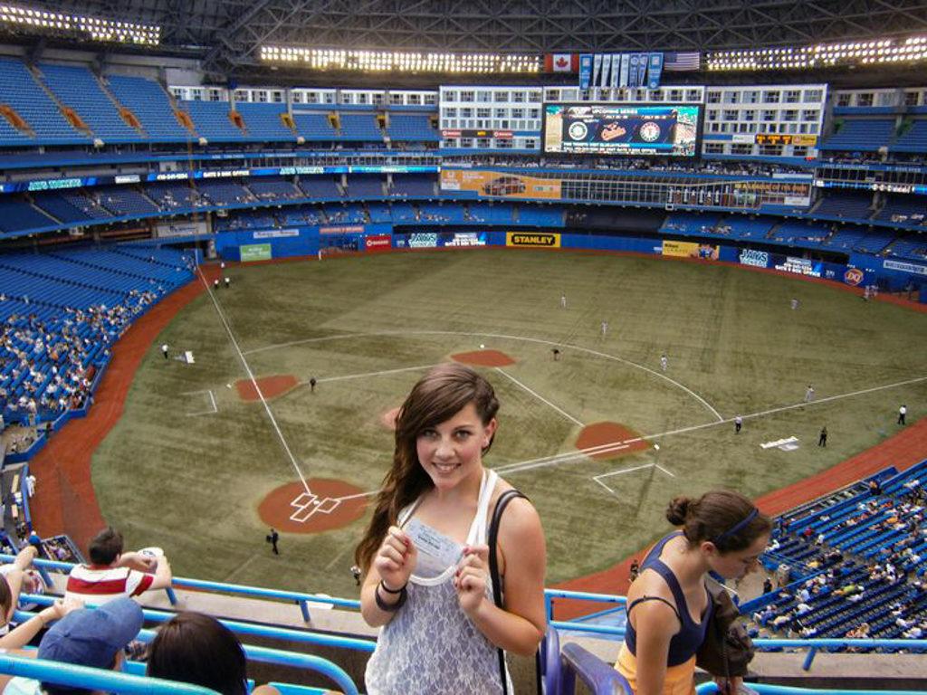 Rogers Centre, estadio dos Toronto Blue Jays, 2011