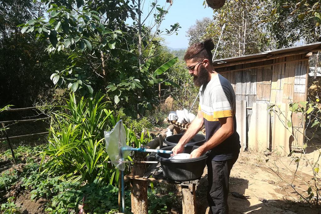 granxa organica en tailandia
